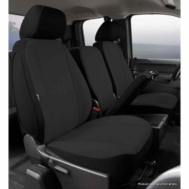 Buy FIA SP87-33 BLACK Front Seat Cover Black Ford F150 11-14 - Seat Covers
