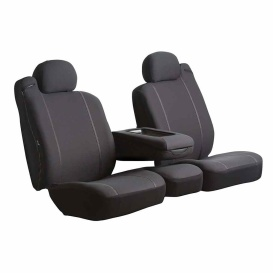 Buy FIA SP87-63 BLACK Front Seat Cover Black Ford Ranger 06-09 - Seat