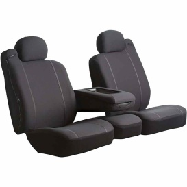 Buy FIA SP87-64 BLACK Front Seat Cover Black Ford Ranger 60-40 10-11 -