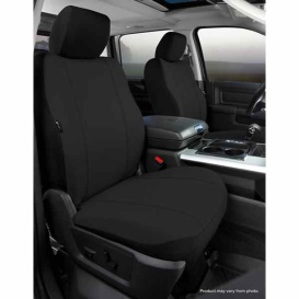 Buy FIA SP88-22 BLACK Front Seat Cover Black Silverado/Sierra 07-11 - Seat