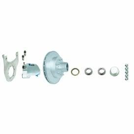"Buy Titan 10HREKITBB Disc Brake 10"" 5 On 4-1/2"" - D - Axles Hubs and"