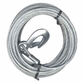 """Buy Fulton WC325 0100 Cable/Hook 3/16""""X25' 4200Lb - Towing Accessories"""