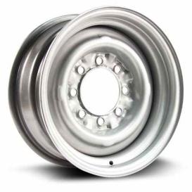 Buy RT X46650 Steel Wheel 16X7 8X165.1 Et6 Cb124.1 Grey - Wheels