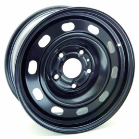 Buy RT X47351 Steel Wheel 17X7 5X139.7 Et30 Cb78.1 Black - Wheels