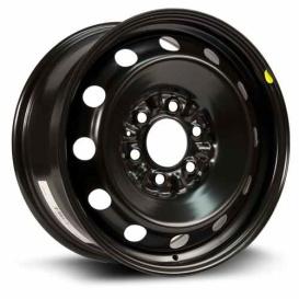 Buy RT B-1BA Steel Wheel 17X7.5 6X135 Et44 Cb87.1 Black - Wheels