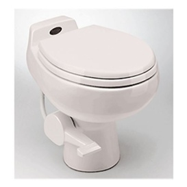Buy Dometic 302751001 Toilet Traveler 510+ White Foot Flush w/Hand Spray
