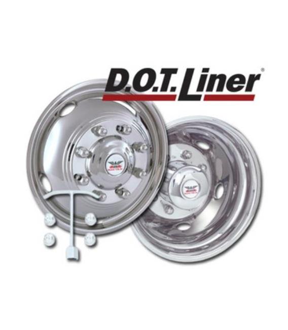"Buy Phoenix USA NH4860 Wheel Simulators 19.5"" 8-Lug Set of 4 - Wheels and"