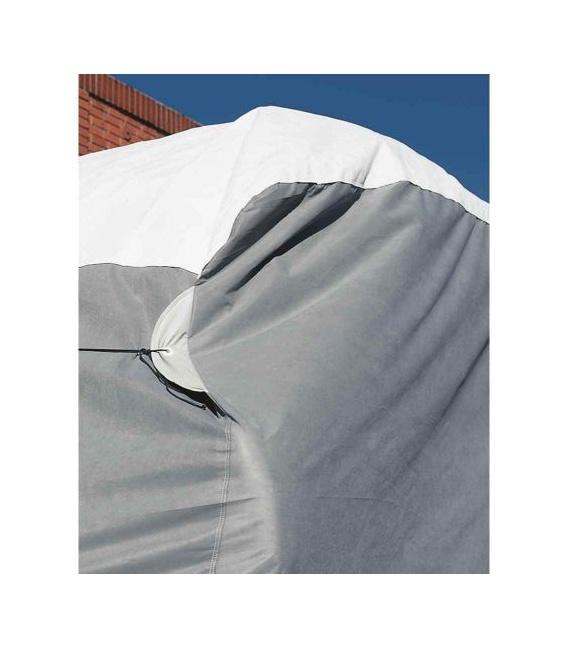 """Wind Tyvek Travel Trailer Cover 24'1""""-26'"""