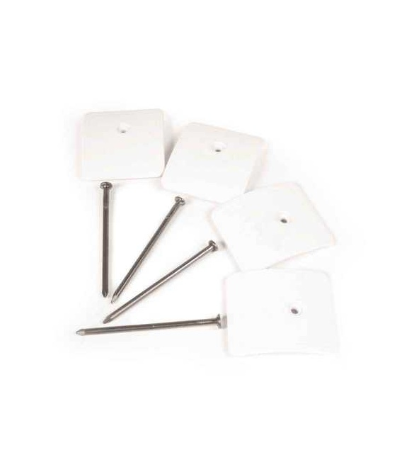 Buy Low-Profile RV Awning Mat Anchors 4 Pack Camco 45631 - Camping and
