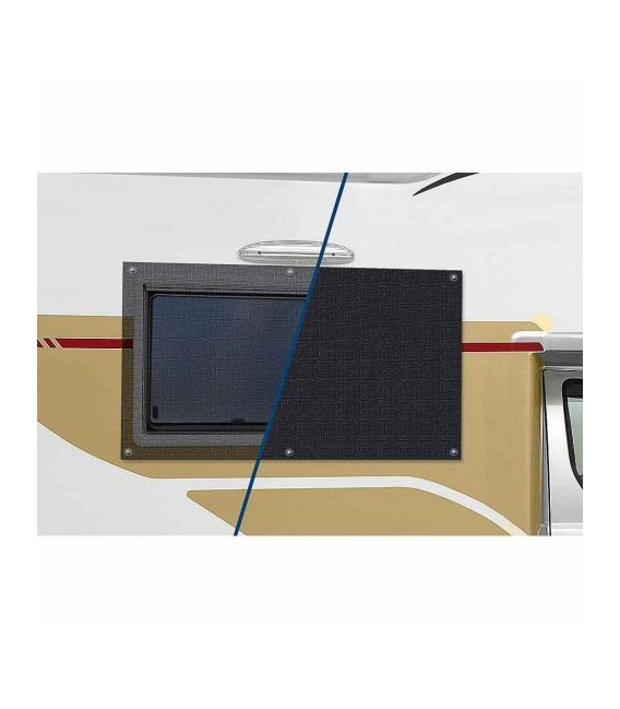 Buy Carefree 902001BLK Window Cover Vinyl Black 902001 Black - Shades and