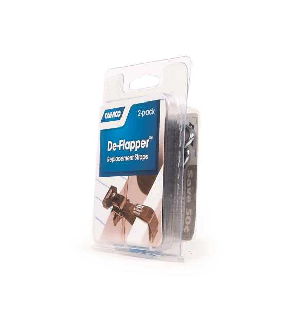 Buy De-Flapper Replacement Straps Camco 42083 - Awning Accessories