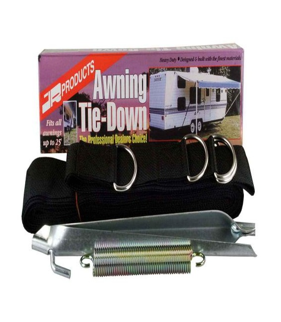 Buy RV Awning Tie Down Strap Kit JR Products 09253 - Awning Accessories