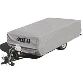 Buy Adco Products 2891 Polypropylene Folding Trailer Cover 8'1 To 10' -