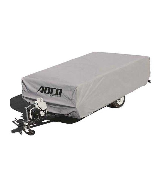 Buy Adco Products 2893 Polypropylene Folding Trailer Cover 12'1 To 14' -