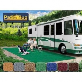 Buy Prest-O-Fit 51892 Patio Rug Green 6X9 - Camping and Lifestyle