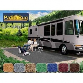 Buy Prest-O-Fit 42870 Patio Rug 6X15 Gray - Camping and Lifestyle