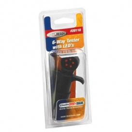 Buy Tow Ready 20116 6-Way Car End Tester w/LED Display - Towing
