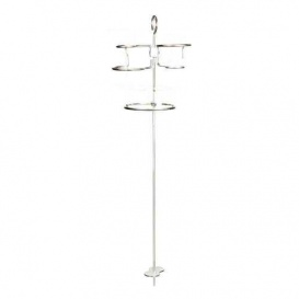 Buy Camco 51463 Tipsy Stix Beverage and Bowl Holder Set with Stake -