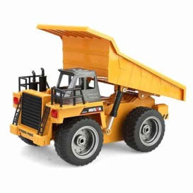 Buy Huina 1540 2.4 Ghz 6Ch Rc 1:18 Die-Cast Dump Truck - Drones and RC