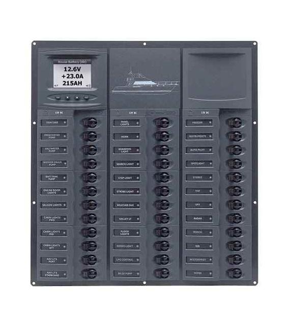 Buy BEP Marine NC36L-DCSM Cruiser Series DC Circuit Breaker Panel