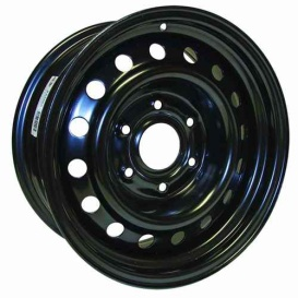 Buy RT X46639 Steel Wheel 16X7 6X139.7 Et16 Cb78.1 Black - Wheels