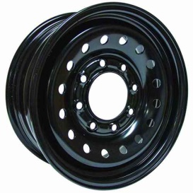 Buy RT X46865 Steel Wheel 16X6.5 8X165.1 Et28 Cb117 Black - Wheels