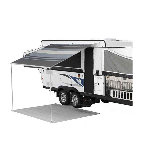 """Buy Carefree 981188A00 CampOut Bag Awning 9'10"""" Sierra Brown Stripe -"""