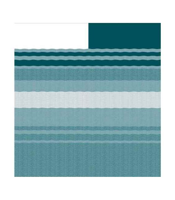 """Buy Carefree 981188C00 CampOut Bag Awning 9'10"""" Teal Stripe - Patio"""
