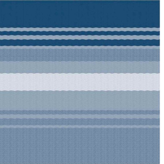 """Buy Carefree 981018E00 CampOut Bag Awning 8'5"""" Ocean Blue Stripe - Patio"""