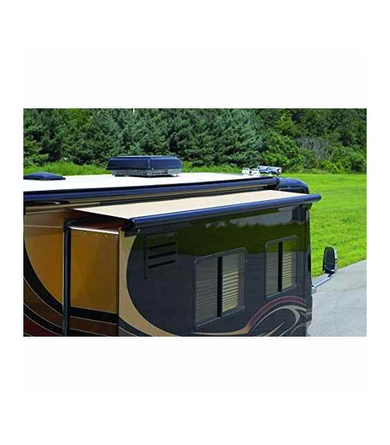"""Buy Carefree UP15762JV Sideout Kover III Awning 161"""" Black w/Fabric -"""