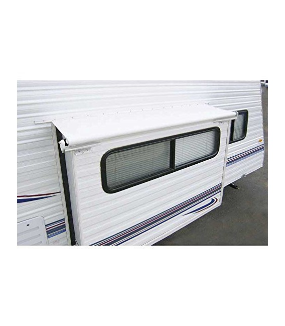 """Buy Carefree LH1296242 Slideout Cover Awning 133"""" Black - Slideout Awnings"""