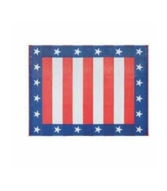 Buy Faulkner 46502 Patio Mat Independence Day 8X20 - Camping and Lifestyle