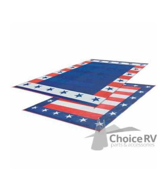Buy Faulkner 46503 Patio Mat Independence Day 9X12 - Camping and Lifestyle