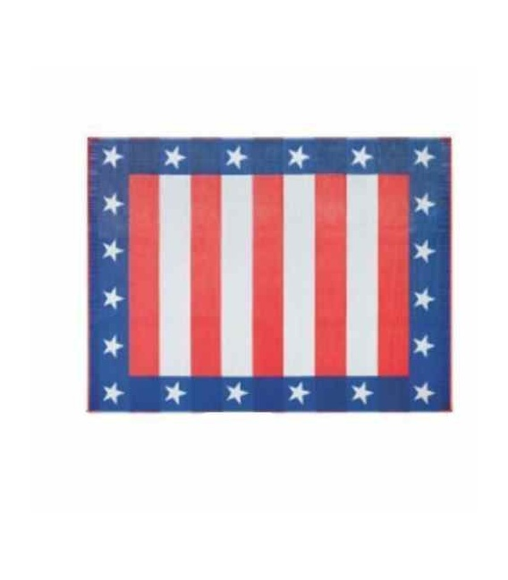 Buy Faulkner 49600 Patio Mat Independence Day 8X16 - Camping and Lifestyle
