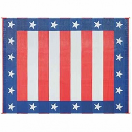 Buy Faulkner 49601 Patio Mat Independence Day 36X68 - Camping and
