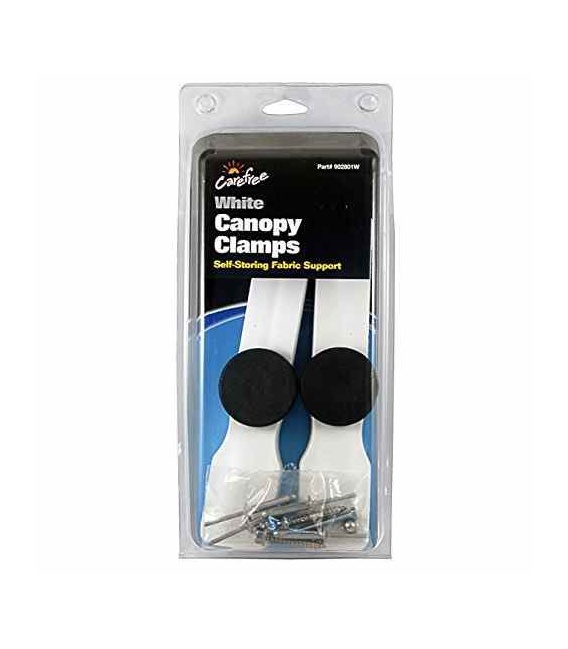 Buy Canopy Clamps White Carefree 902801W - Awning Accessories Online RV
