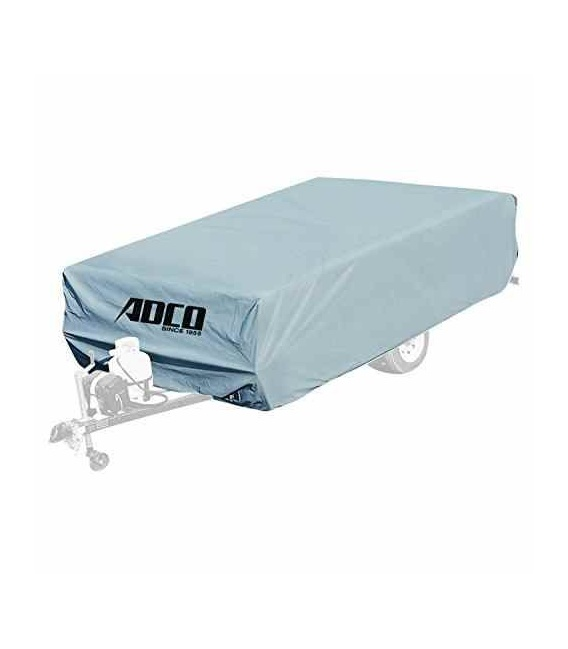 Buy Adco Products 2890 Polypropylene Folding Trailer Cover Up To 8' -