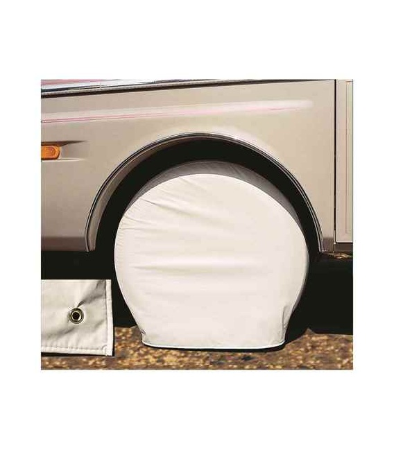Buy Ultra Tyre Gard Pol. White Size Over Adco Products 3956 - RV Tire