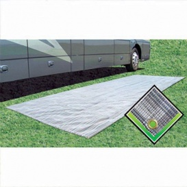 Buy Prest-O-Fit 53271 Breathable Outdoor Patio Mat 6X15 Seascape - Camping