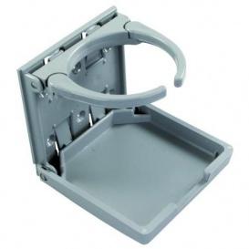 Buy Adjustable Drink Holder Gray JR Products 45622 - Tables Online RV
