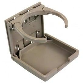 Buy Adjustable Drink Holder Tan JR Products 45623 - Tables Online RV Part