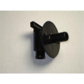 """Buy Peterson Molding 18958BLACK Drain Valve 1/2"""" Barb With Flange -"""