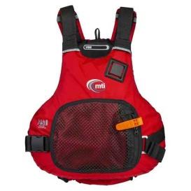 Buy MTI Life Jackets MV706F-S/M-4 Vibe Life Jacket - Red - Small/Medium -