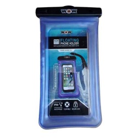 """Buy WOW Watersports 18-5020B H2O Proof Smart Phone Holder - 5"""" x 9"""" - Blue"""