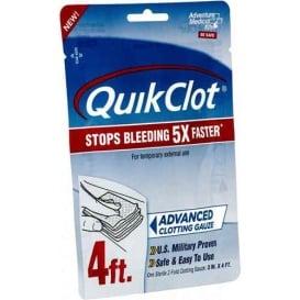 "Buy Adventure Medical Kits 5020-0026 QuickClot Gauze 3"" x 4' - Outdoor"