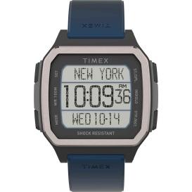 Buy Timex TW5M28800JV Command Urban 47mm - Black Case w/Blue Strap -
