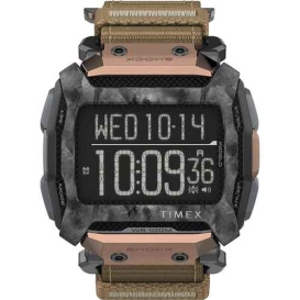 Buy Timex TW5M28600JV Command 54mm - Black Case w/Black Fastwrap & Copper