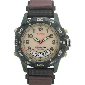 Buy Timex T45181 Expedition Resin Combo Classic Analog Green/Black/Brown -