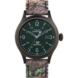Buy Timex TW2T94600SO x Mossy Oak Standard - 40mm Case - Dark Camouflage -