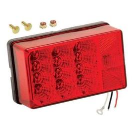 "Buy Wesbar 407550 4"" x 6"" Waterproof LED 7-Function, Right/Curbside w/3"
